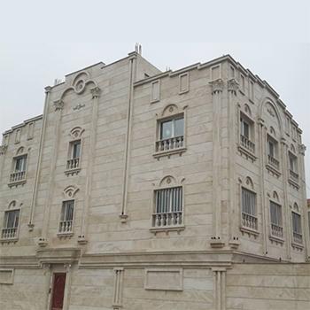 پروژه ساخت اجرا و نصب پنجره های دوجداره upvc این ساختمان