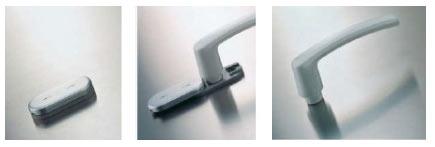 انواع دستگیره پنجره دو جداره upvc
