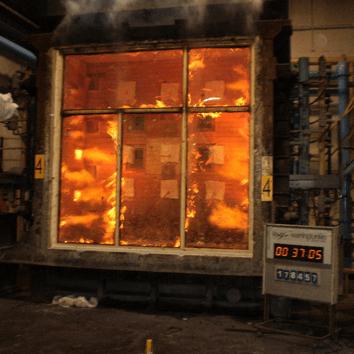 مقاومت پنجره های دوجداره و پروفیل های upvc در برابر حریق و آتش سوزی