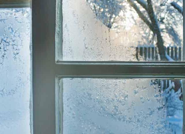 جلوگیری از یخزدگی پنجرهها