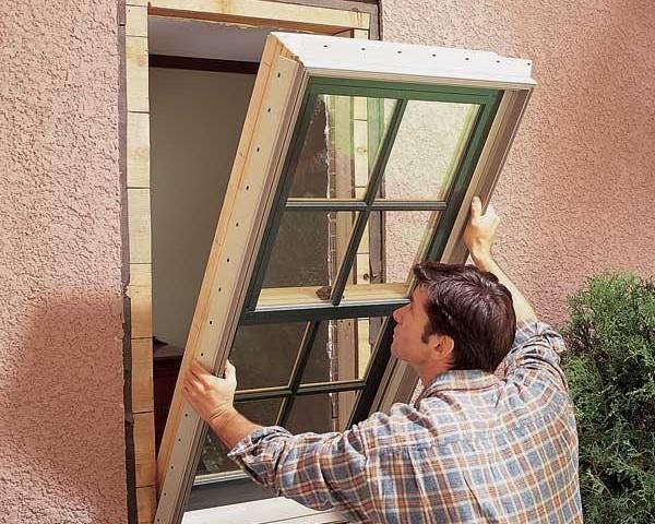 ساب فریم یا فریم انتظار پنجره دوجداره upvc