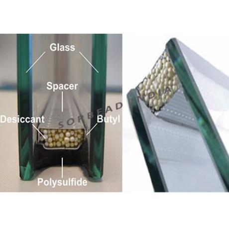 اجزای شیشه دوجداره